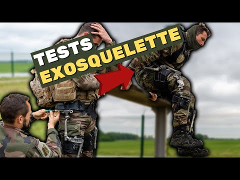 L'exosquelette - une réalité pour les commandos parachutistes du 1er RCP