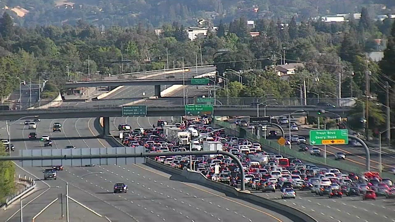 Police block interstate ramps amid California George Floyd protest