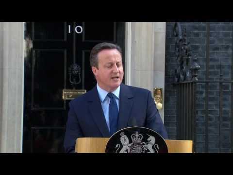 EU vote  David Cameron says UK 'needs fresh leadership'   Nimolank