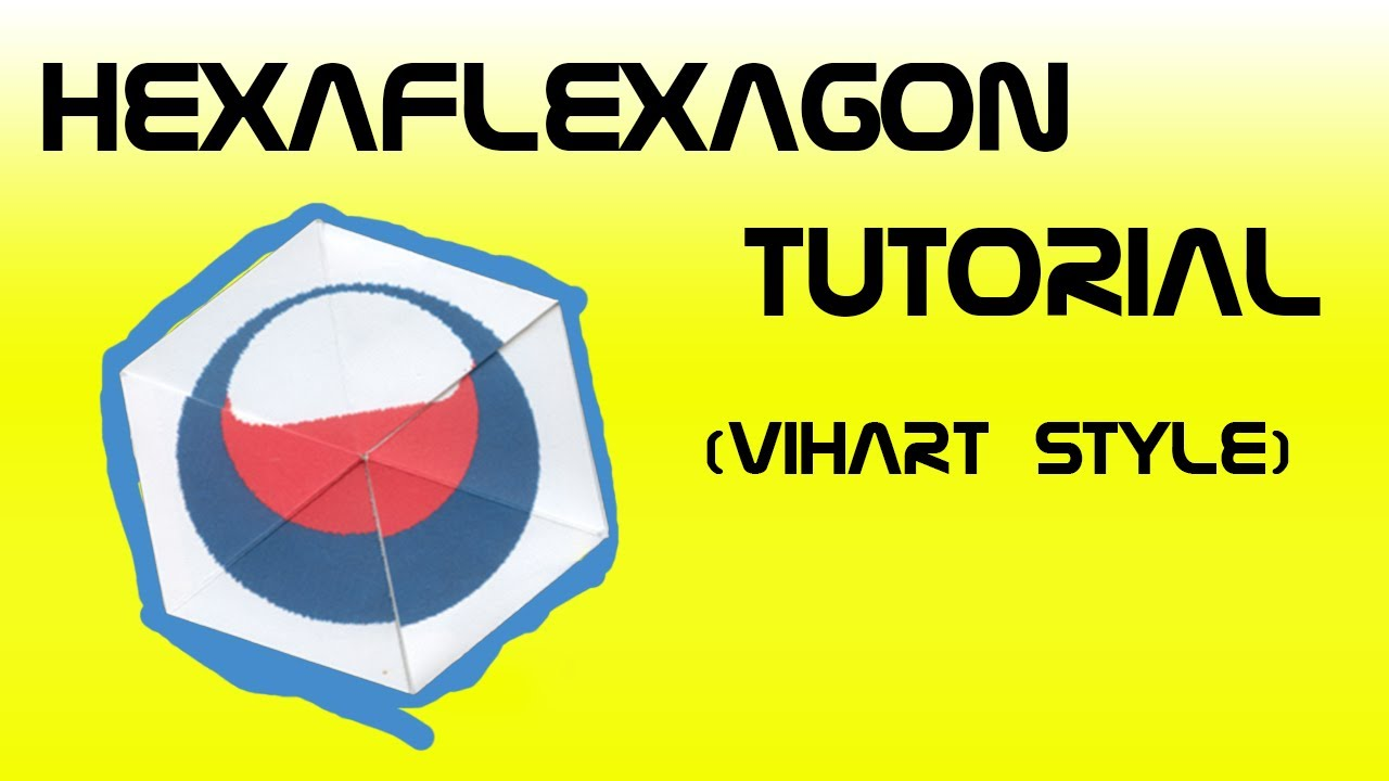 How to make a hexaflexagon slowly