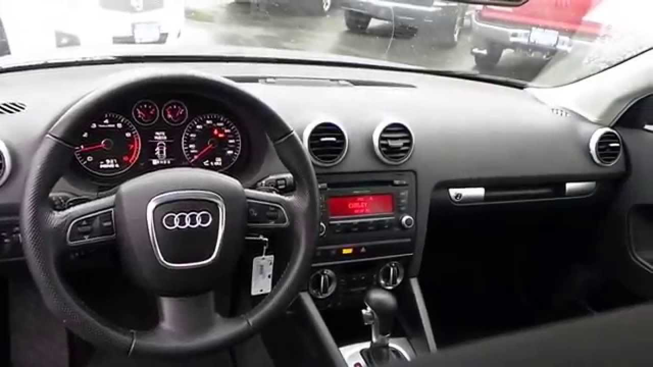 2009 audi a3 meteor gray pearl stock 31566a interior. Black Bedroom Furniture Sets. Home Design Ideas