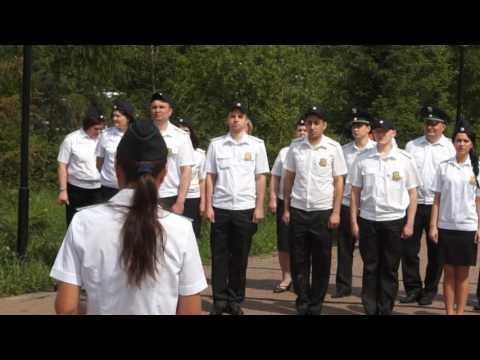 Торжественная церемония принятия присяги судебными приставами | УФССП России по Красноярскому краю
