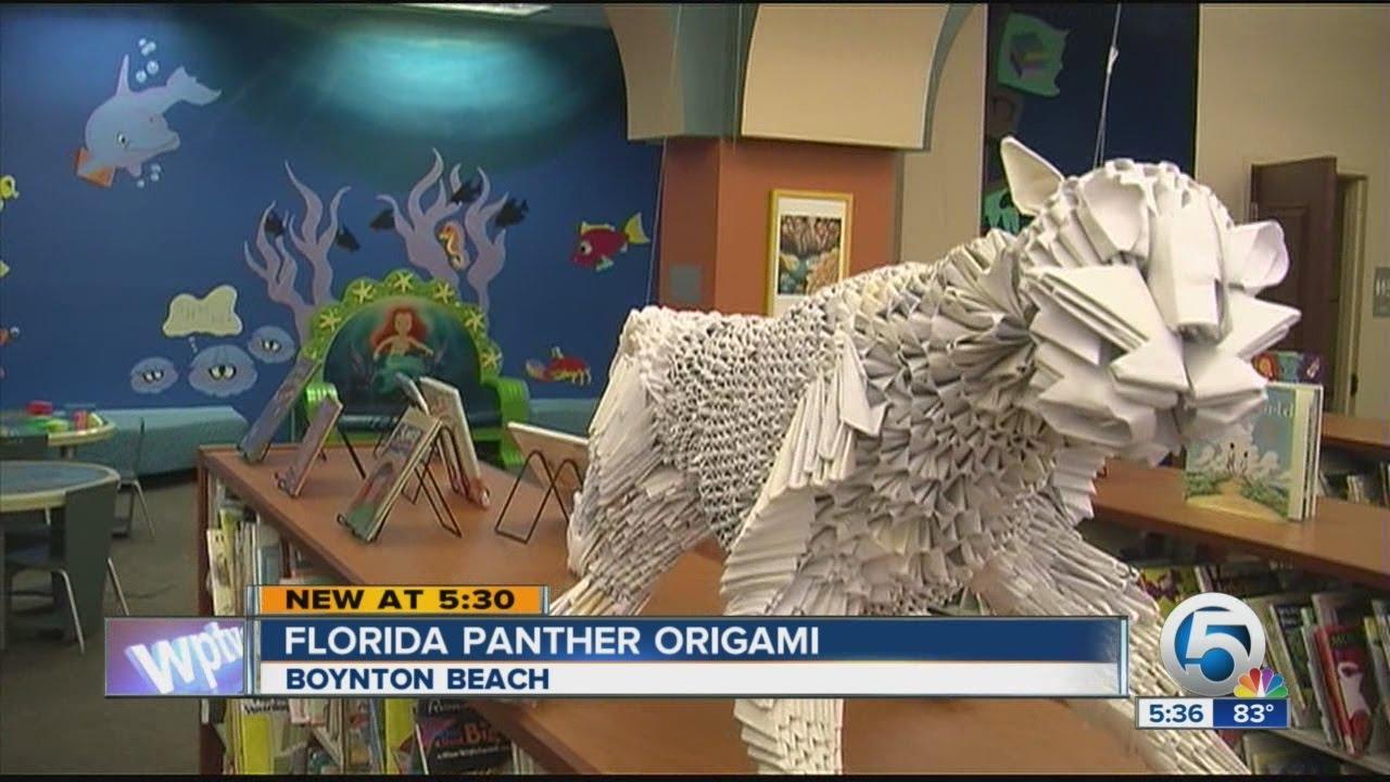 Florida Panther Origami