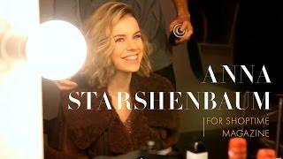 Anna Starshenbaum For ShopTime Magazine. Backstage