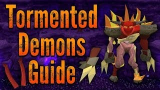 Runescape 3 - ULTIMATE Tormented Demons Guide 2014 - 3M-5M/Hour & 180k+ XP/Hour