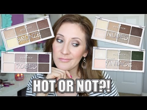 Essence All About Eyeshadow Palettes | HOT OR NOT?