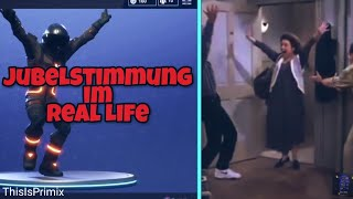 Jubilation Dance | Jubelstimmung Tanz im Real Life! | Fortnite Battle Royale