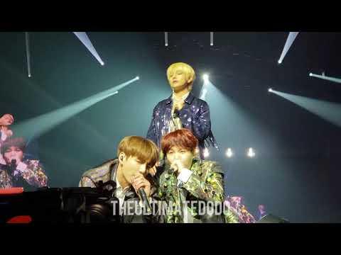 180922 Attack on Bangtan @ BTS 방탄소년단 Love Yourself Tour in Hamilton Fancam 직캠