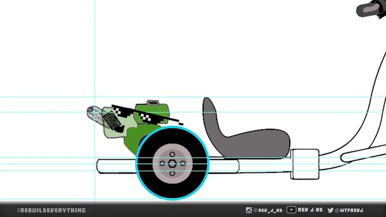 Planning the Drift Trike Build (and some deep v-necks)