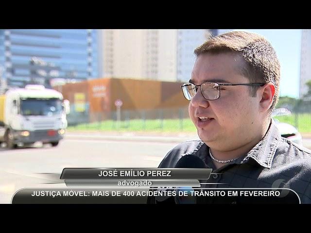 JMD (09/03/19)  Acidente de trânsito chame a justiça móvel
