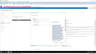 Configure Email Disclaimer in Exchange 2019