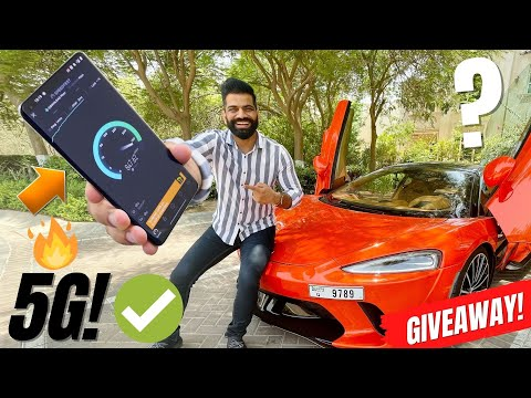 I Used 5G In Dubai | Crazy Fast with OnePlus 9 Pro | Giveaway🔥🔥🔥