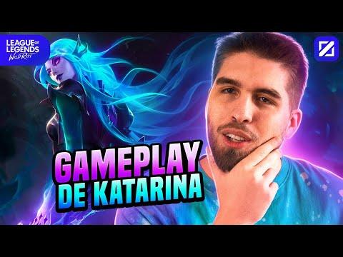 Download GAMEPLAY DE KATARINA MID NO WILD RIFT   RAKIN