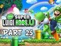 New Super Luigi U Gameplay Walkthrough - Part 25 Peach's Castle Let's Play Wii U