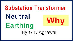 Substation transformer - floating neutral & its earthing
