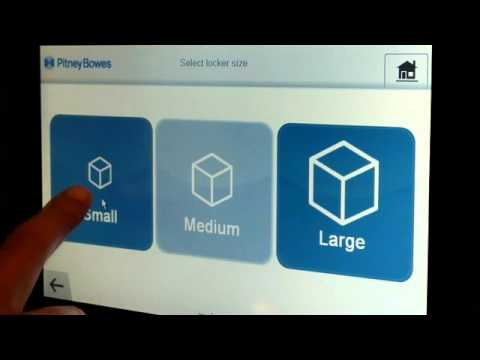 pbSmartLocker Drop Off Video