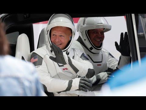 Sondersendung Zum 1. Bemannten Start Einer #SpaceX-Rakete(Raketenstart Auf Sa. 21.22 Uhr Verschoben)