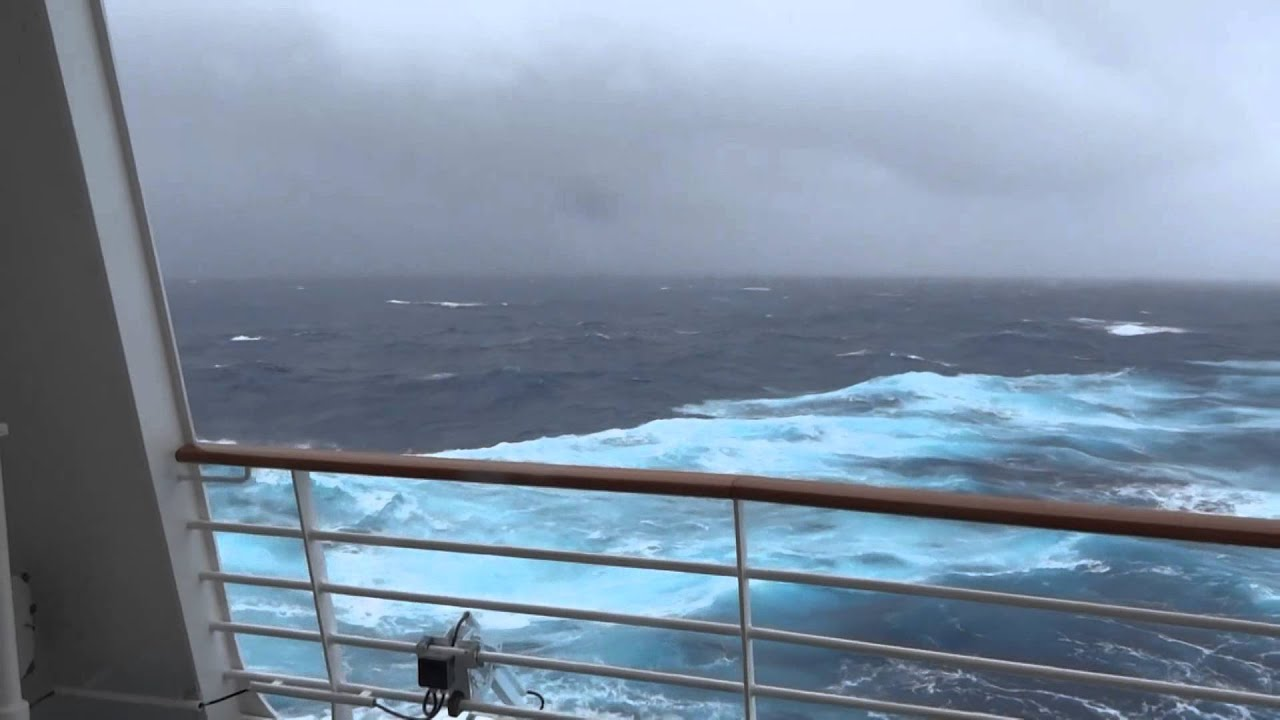 Cruise Ship In Bermuda Triangle Storm  YouTube