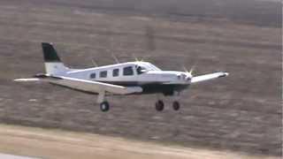 Piper PA-32R-301T Saratoga Takeoff CSU3