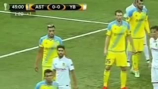 астана - Янг Бойз 0:0. Обзор матча. 29.09.2016