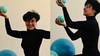 Упражнения Кегеля для женского здоровья Мяч Укрепляем органы малого таза ягодицы бедра