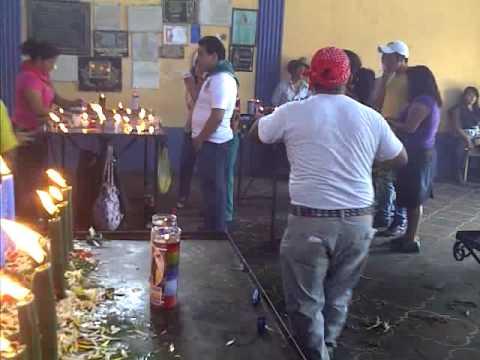 Visita de estudio a San Simón en San Andrés Itzapa, Chimaltenango, Guatemala.