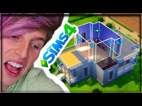 I'M BUILDING A HOUSE! (SIMS 4 CHEATS NEEDS #REPZILLA) HELP!