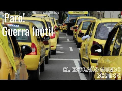 Paro de Taxistas 2019: Una guerra inutil