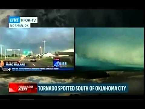 May 6, 2015, Norman, OK, Tornado Live on the Weather Channel