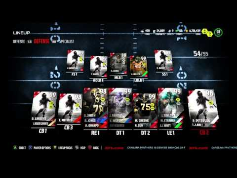 Madden 16 Ultimate Team :: We Got BOSS Rod Woodson! and goofy ass 98 woodson too :(