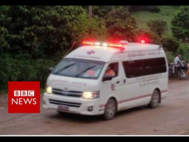 Thai cave rescue:  First boys rescued - BBC News
