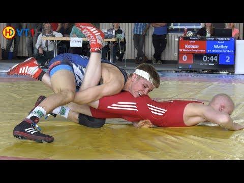 RINGEN   BM 2019 Männer (Freistil) - 57kg Nord, R 3