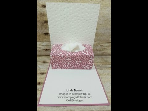 Pop Up Kleenex Box Card