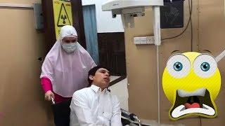 كسر رجله عشان مايداوم👊😱