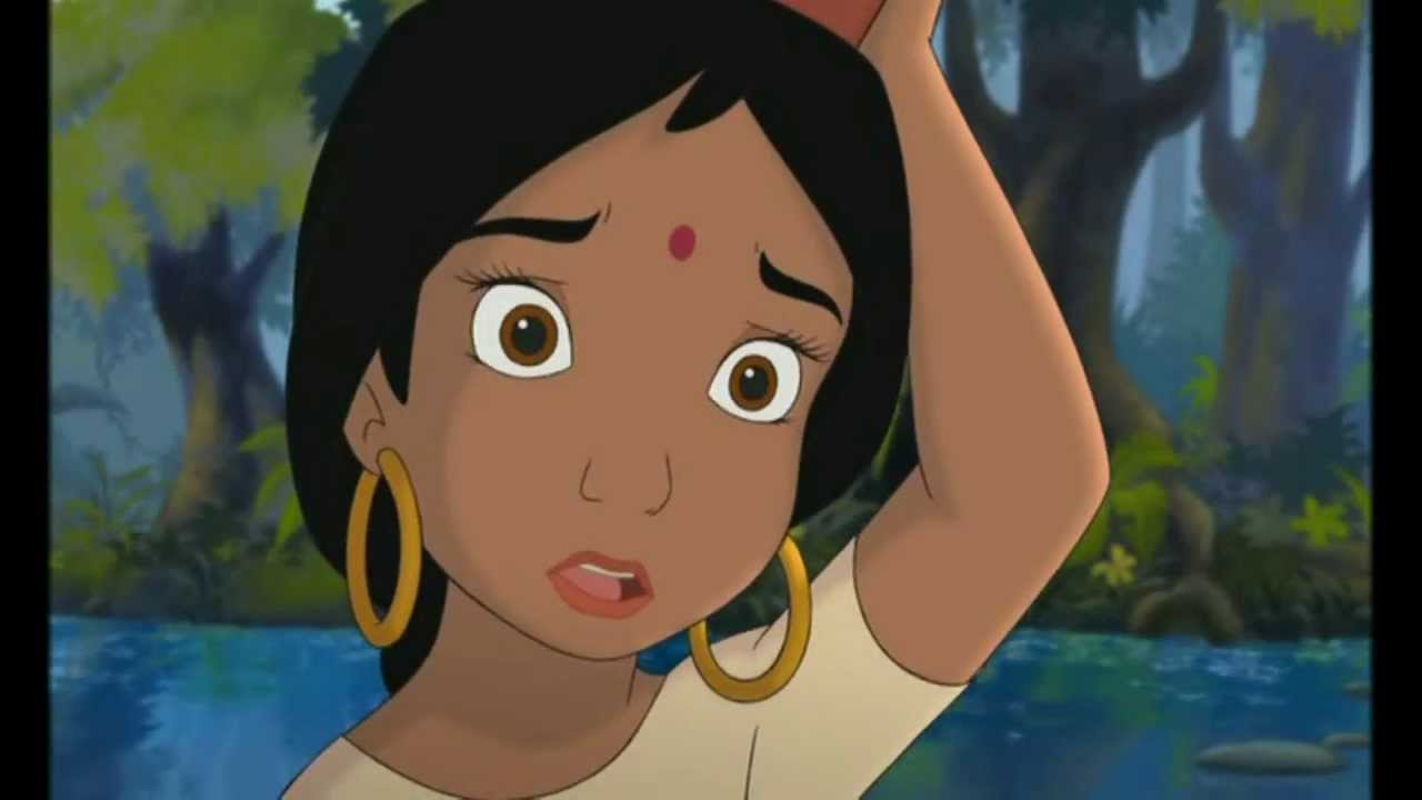 the jungle book mowgli and shanti