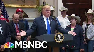Donald Trump Floats Pardon For DHS Appointee To Follow His Order | The Beat With Ari Melber | MSNBC