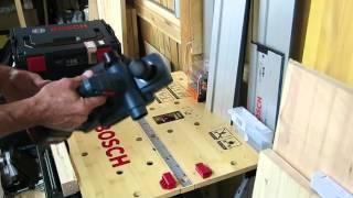 Аккумуляторный рубанок GHO 18 V-LI. Небольшой обзор.