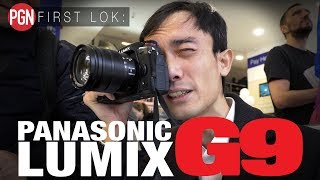 FIRST LOK: Panasonic Lumix G9 - Lok tries the new high-end mirrorless camera