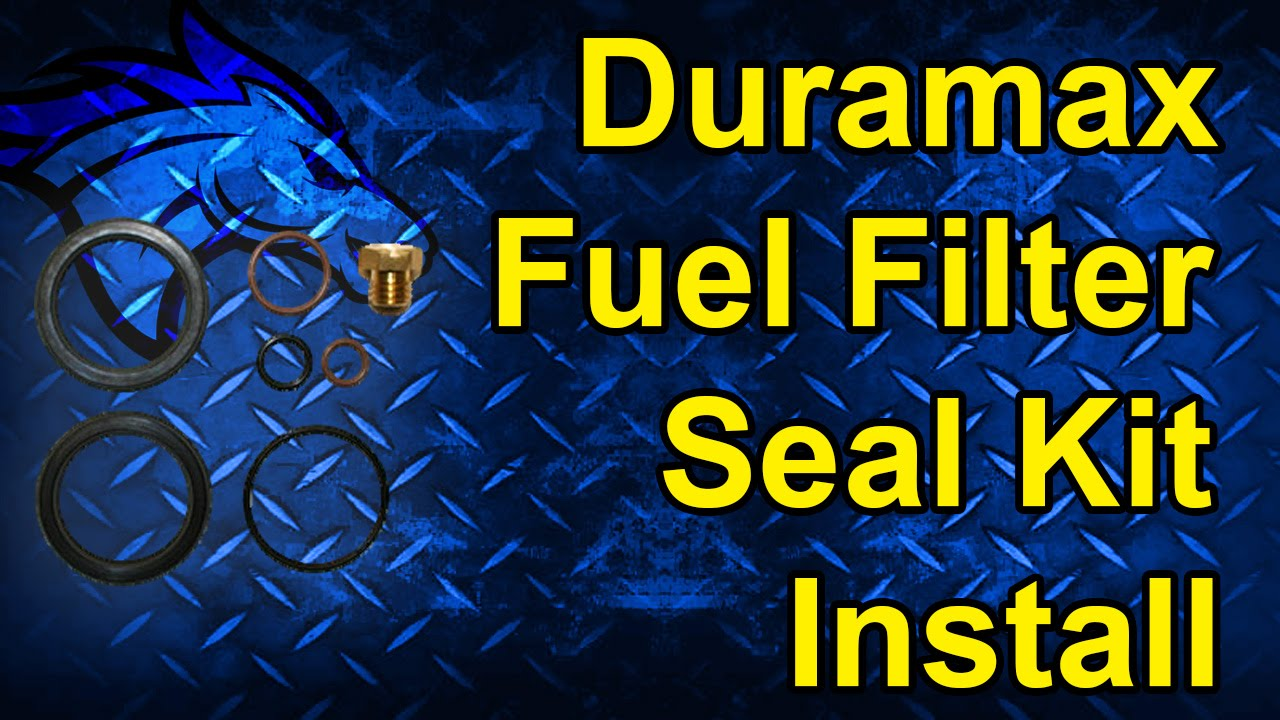 Duramax Fuel Filter Seal Kit Install: 01-10 Duramax #AP0029 on