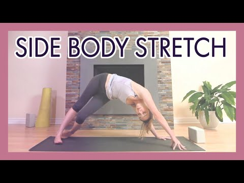 Yoga Side Body Stretch - Obliques, IT Band and Neck Release Yoga Flow {45 min}