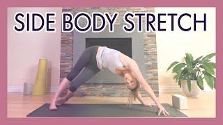 Video Yoga Side Body Stretch - Obliques, IT Band and Neck Release Yoga Flow {45 min} download MP3, 3GP, MP4, WEBM, AVI, FLV Maret 2018