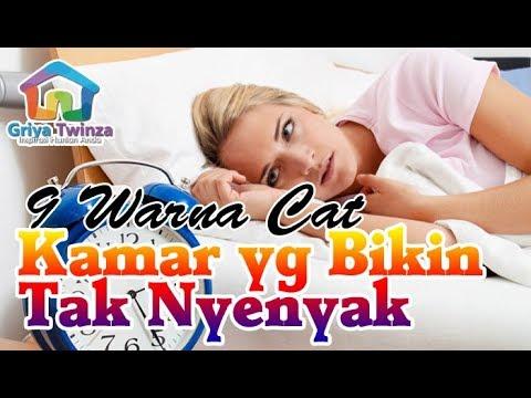Hati hati, 9 Warna Cat Kamar Ini Bisa Membuat Tidurmu Tidak Nyenyak