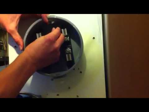 meter socket replacement pt 1 - youtube, Wiring diagram