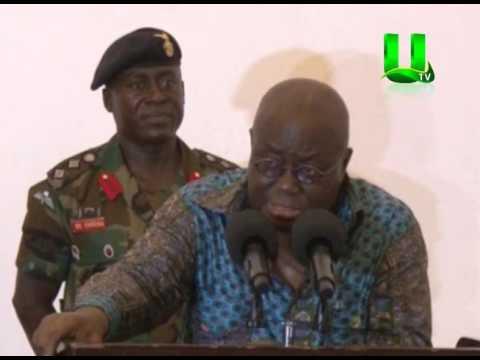 Prez Akufo-Addo Condemns Delta Force Attack