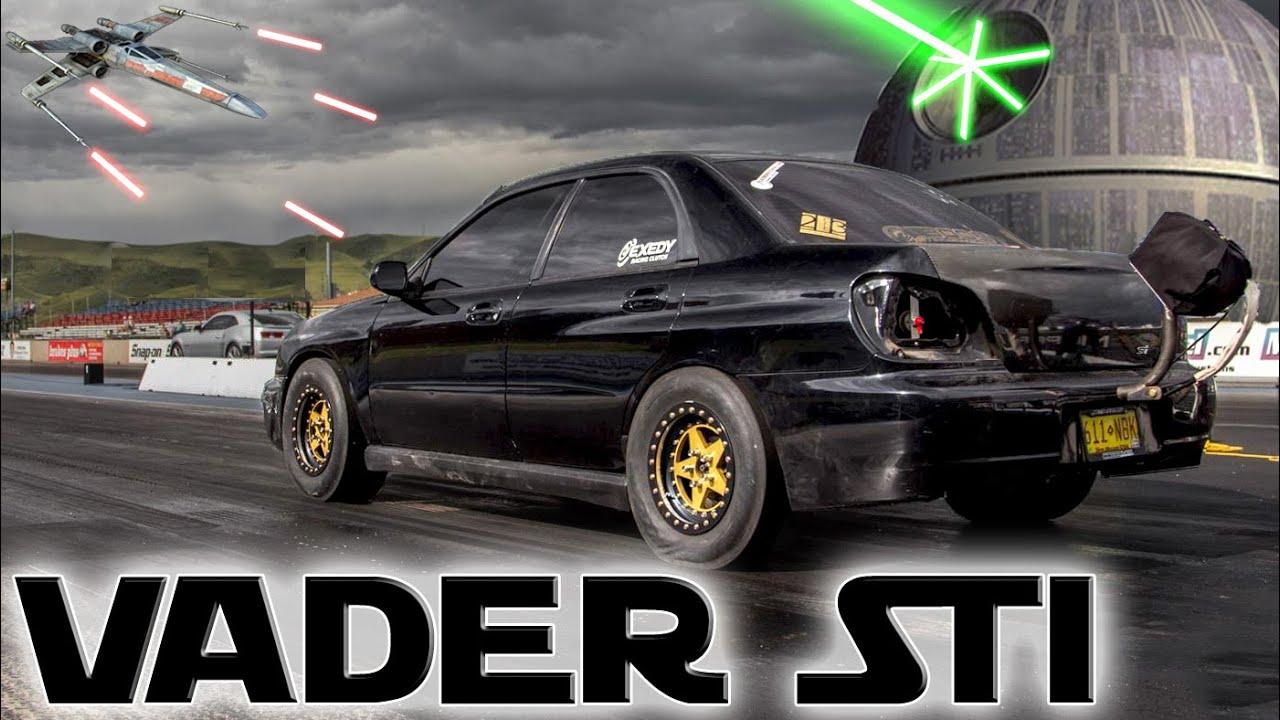 Subaru STi Breaks 10-Second 1/4-Mile | DragTimes com Drag