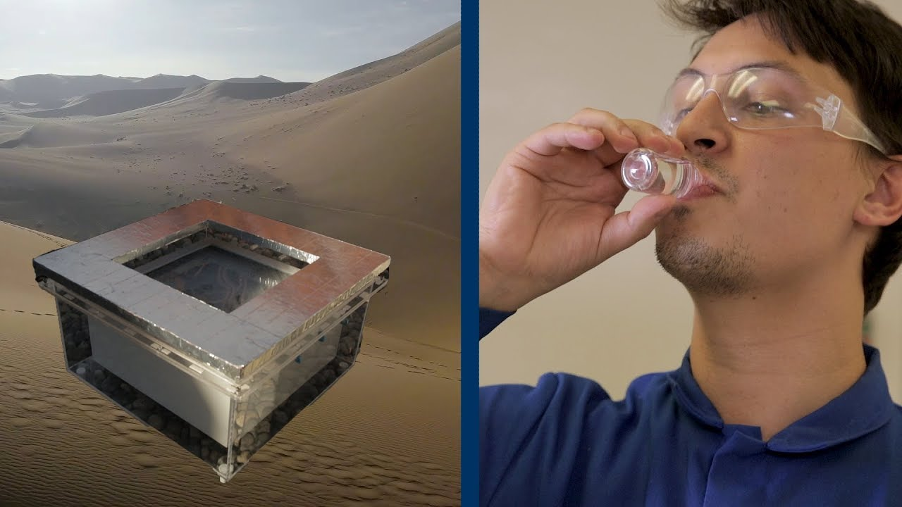 This device can turn desert air into water