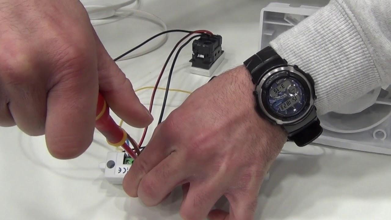 Schema Elettrico Per Temporizzatore : Come si monta un timer per aspiratore pillola n. 88 di materiale