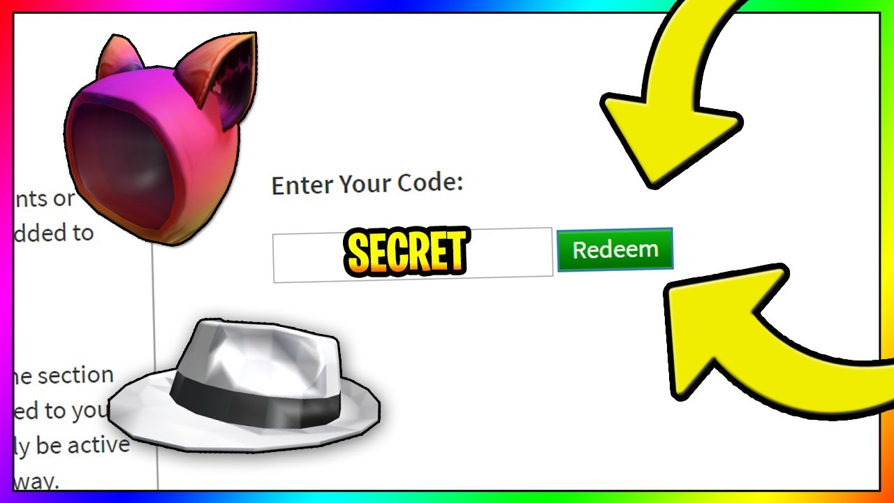 *FEBRUARY* NEW ROBLOX PROMO CODES 2020 (Roblox Promo Codes ... on Promo Code Roblox id=27127