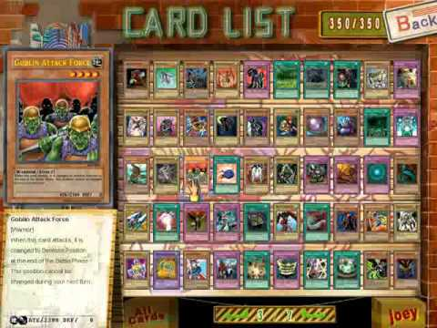 yu gi oh power of chaos all cards download