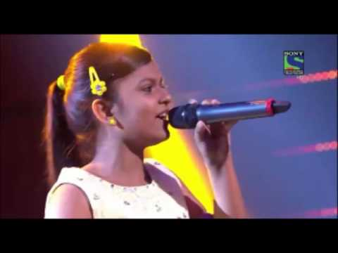Indian Idol Junior 2015   Maahi Ve  by Niharika